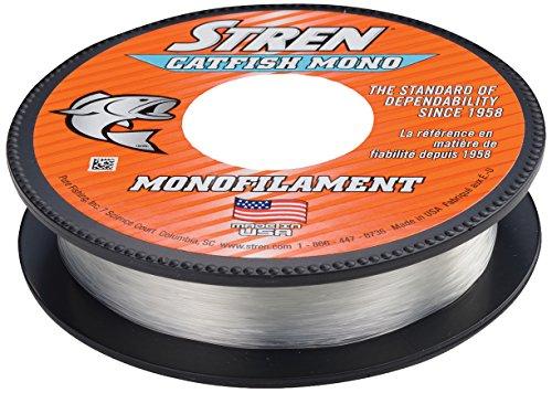 Stren Catfish Mono Clear/Blue Fluorescent, 350-Yard/40-Pound