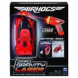 Air Hogs Zero Gravity Laser, Auto da Corsa sulle Pareti Laser-Comandata, Rossa