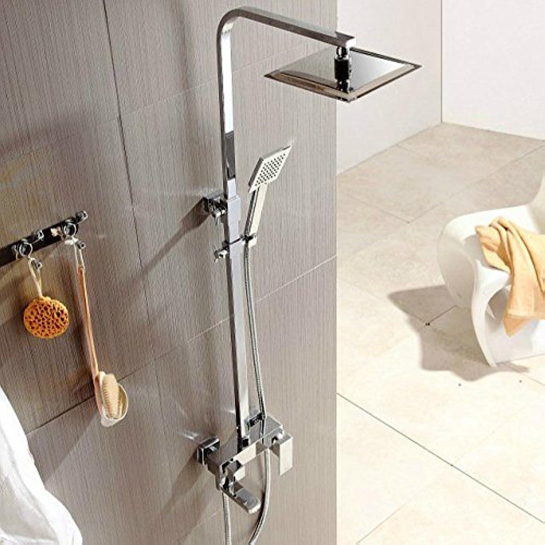 Gyps Faucet Waschtisch-Einhebelmischer Waschtischarmatur BadarmaturPlatz - Kupfer Dusche Kit Dusche Wasserhahn Druck Sprinklersteigleitung Dusche,Mischbatterie Waschbecken