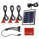 Paneles solares, batería 3.7V Kit de panel solar recargable USB de energía solar, para patio, jardín, canalón, kit de iluminación de panel solar de camino