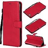 XCYYOO Funda para iPhone 6/iPhone 6S Silicona,iPhone 6/iPhone 6S Carcasa Libro de Cuero con Tapa de...