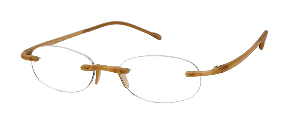 Gels - Lightweight Rimless Fashion Readers - The Original Reading Glasses for Men and Women