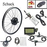 "Schuck 36V 500W 27.5"" Front Wheel Electric Bicycle Motor Conversion Kit E-Bike Cycling"