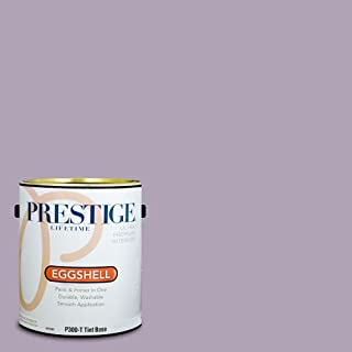 Prestige Paints P300-T-SW6556 Interior Paint and Primer in One, 1-Gallon, Eggshell, Comparable Match of Sherwin Williams OBI Lilac, 1 Gallon, SW22-Obi