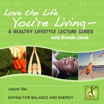 Eating for Balance and Energy cover art