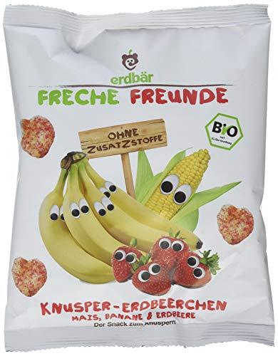 Freche Freunde Bio Knusper-Erdbeerchen