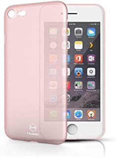 Mcdodo IPhone 7 Plus transparent plastic cover pink color