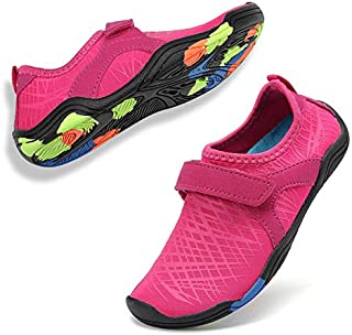 WALUCAN Girls' & Boy's Water Shoes Aqua Shoes Athletic...