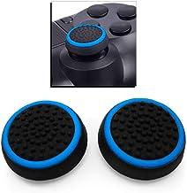 OcioDual 2x Funda de Goma Azul Compatible con Joystick Mando