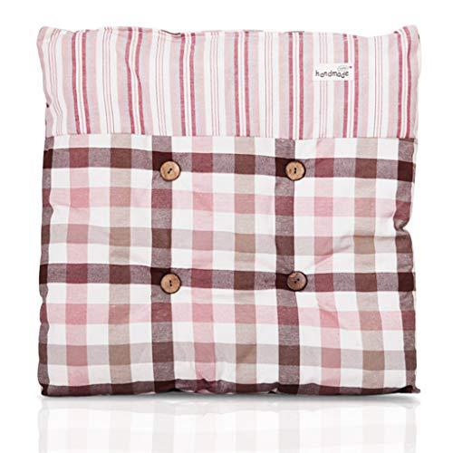 HEWEI Kussen voor eetkamerstoel Kussen voor sofa kussens voor landelijke stoel Kussen voor stoffen stoel Kussen voor bedkussens. Student herfst en winter mat C_43x43cm 43x43cm A