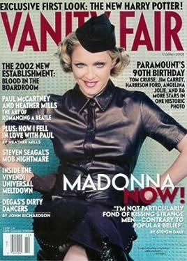 Vanity Fair - October 2002: Madonna, Harry Potter, Paul McCartney and Heather Mills (Single Issue Magazine)