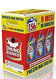 Omino Bianco – Detersivo Lavatrice Liquido Color+, 156 Lavaggi, 2600 ml x 3 Confezioni