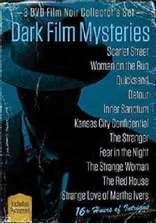 Dark Film Mysteries Film Noir Collector's Set