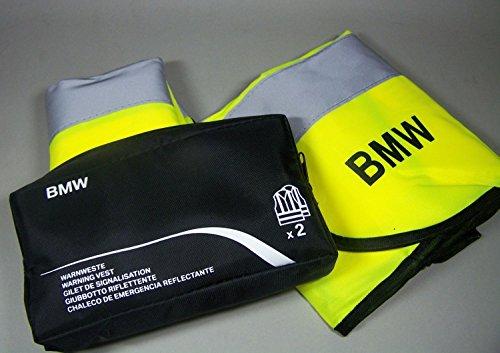 Original BMW Warnwesten neongelb im Doppelpack