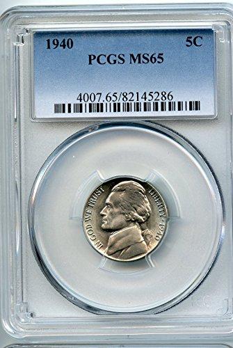 1940 Jefferson Nickel MS-65 PCGS