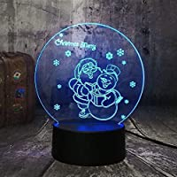 giyiohok 3DBluetoothベッドサイドテーブルLight3DLedナイトライト猫子猫ヘッドstag7色変更スリープライト装飾ギフトホームおもちゃ赤ちゃんアクリル子供装飾室誕生日-B10-B16