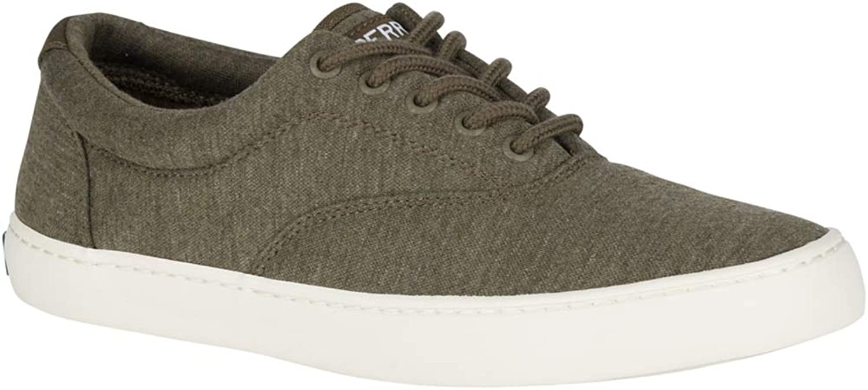 SPERRY Top-Sider Cutter CVO Jersey Sneaker Men 8.5 Olive