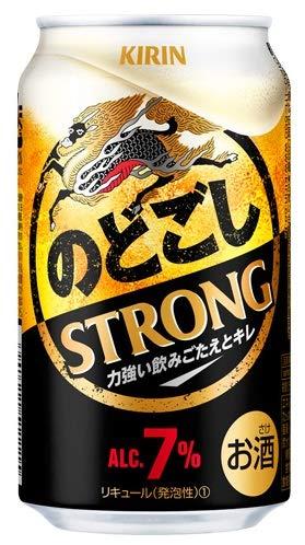 【2019年リニューアル】キリン のどごし STRONG ストロング 350ml1ケース24本