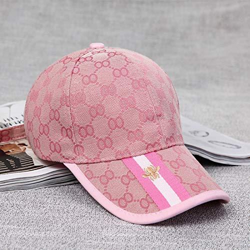 Gorra de béisbol para Mujer Nueva versión Coreana de otoño de la Gorra con Visera de Moda Masculina Fashionista Sombrero para el Sol Salvaje al Aire Libre