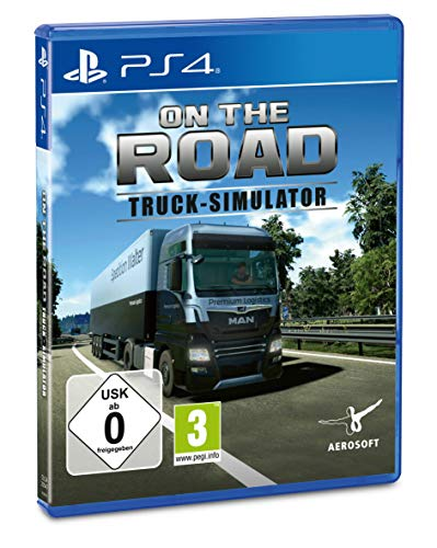 Truck Simulator - On the Road Truck (PlayStation PS4): LKW - Simulator [Alemania] [Blu-ray]