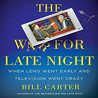 The War for Late Night audiobook cover art