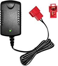 6V Charger with Square-Type Plug for 6Volt Battery, 7V800ma for 6V Child Ride On Car Rollplay Kid Trax Disney Frozen White Toddler Wildfire Quad