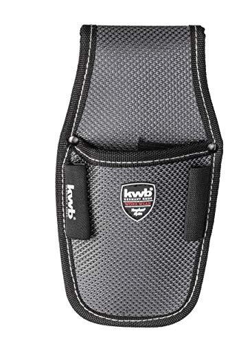 kwb Werkzeugtasche 907110 (Messertasche aus Nylon, mit am Gürtel tragbar, für handelsübliche Cuttermesser)