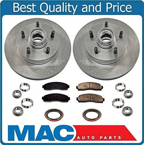 Front Brake Disc Rotors and Pads For 2003-2011 Fits For Ford Ranger Rear Wheel Drive With 4 Wheel ABS Brakes