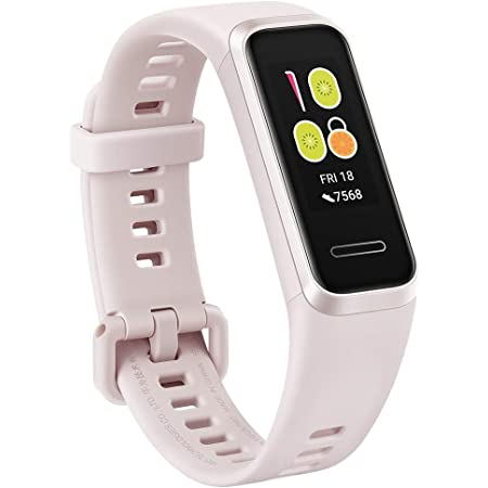 HUAWEI Band 4/サクラピンク /活動量計/防水/簡単充電【日本正規代理店品】 BAND 4/PINK/A