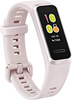 HUAWEI Band 4/サクラピンク/活動量計/防水/簡単充電【日本正規代理店品】 BAND 4/PINK/A