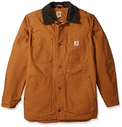 Carhartt Abrigo grande y alto para hombre - marrón - X-Large Tall