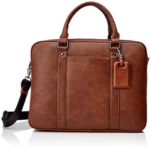 ALDO Mens PANDORO Briefcase Cognac ONE Size