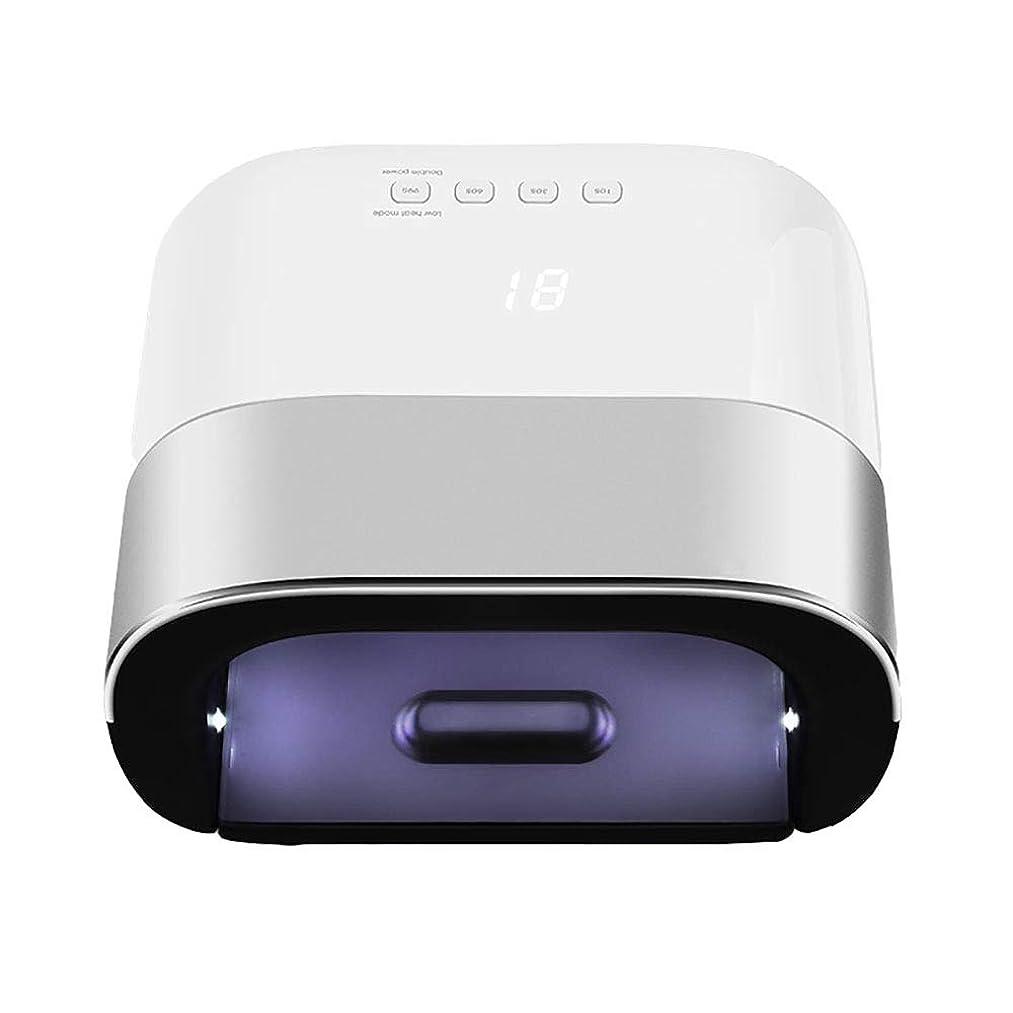 きつくワークショップ見える釘ドライヤー - 自動赤外線センサー、二重光源のLEDランプのゲルのドライヤーのマニキュアが付いている紫外線携帯用LEDの釘ランプ