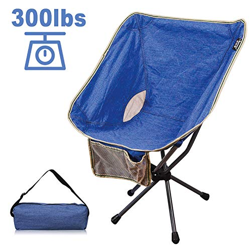 GALSOAR Camping Chairs Outdoor Portable Backpacking Folding Chairs with Carry Bag Heavy Duty 300 lbs Capacity for BBQ Beach Travel Picnic Hiking Fishing