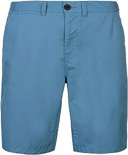 Pierre Cardin Hommes 100% Coton Classique Tressé Ceinture Chino Shorts