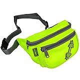 C.P. Sports Gürteltasche, Bauchtasche, Hüfttasche in 9 Farben - Doggy Bag, Waistbag für Damen und...