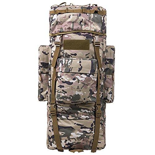 COCO Oxford bergbeklimmen tas schouder mannen en vrouwen grote capaciteit reistas wandelzak rugzak mannelijke bagage tas Camouflage 100L