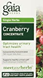 Gaia Herbs Cranberry Concentrate, 60 caps