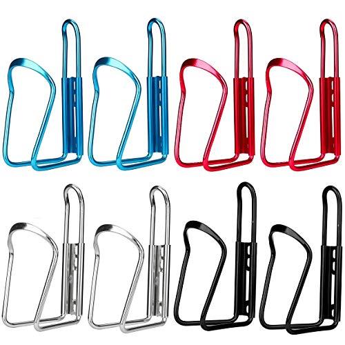 ZSWQ Portabidones para Bicicleta - Portabotellas de Bici Aleación de Aluminio Ultraligero Portabidón de Ciclismo para Bicicleta de Montaña y Carretera