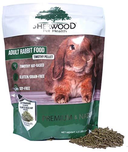 Adult Rabbit Food Timothy Pellet (4.5 pounds)