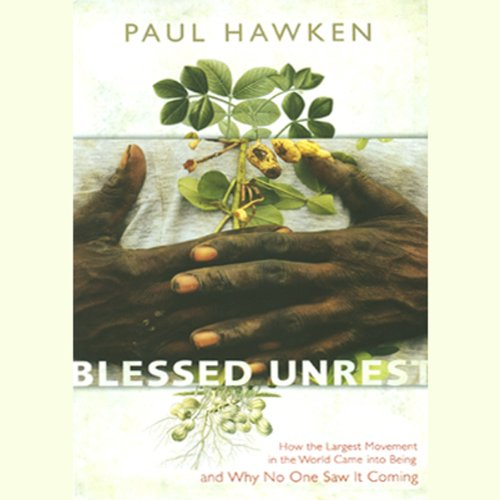 Blessed Unrest audiobook cover art
