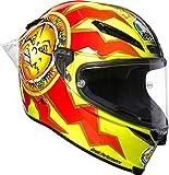 Casco de carreras de AGV, Pista GP R, diseño de 20 aniversario de Valentino Rossi VR|46