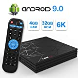 Android TV Box,T95 MAX Android 9.0 TV Box 4GB RAM/32GB ROM H6...