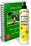 Leivys Arnika DMSO Spray dimetilsulfóxido 99,99% de pureza en botella de spray de polietileno de alta densidad de aplicación cómoda, efecto eficaz 250 ml