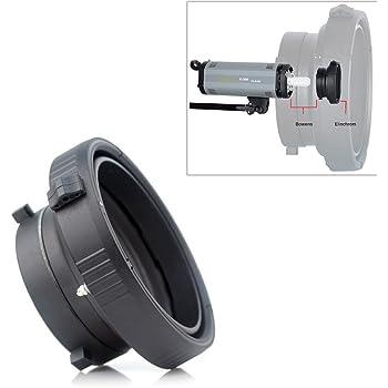 Anillo Adaptador MTA-BW para Poder Utilizar Accesorios con Montura Bowens en Flashes con Cuello de 9,5 cm