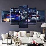 CANVANUK Leinwand malerei 5 Panel HD Print Große Skyline