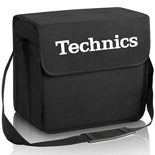 Technics borsa nera per trasportare dischi in vinile (capienza 60 dischi)