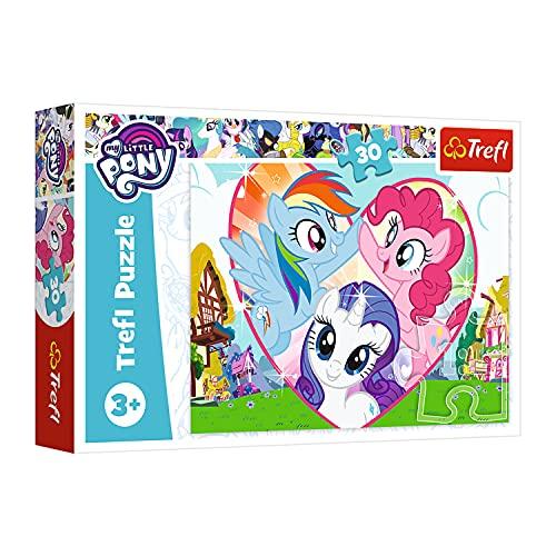 Trefl, Puzzle, Besser zusammen, My Little Pony, 30 Teile, für Kinder ab 3 Jahren
