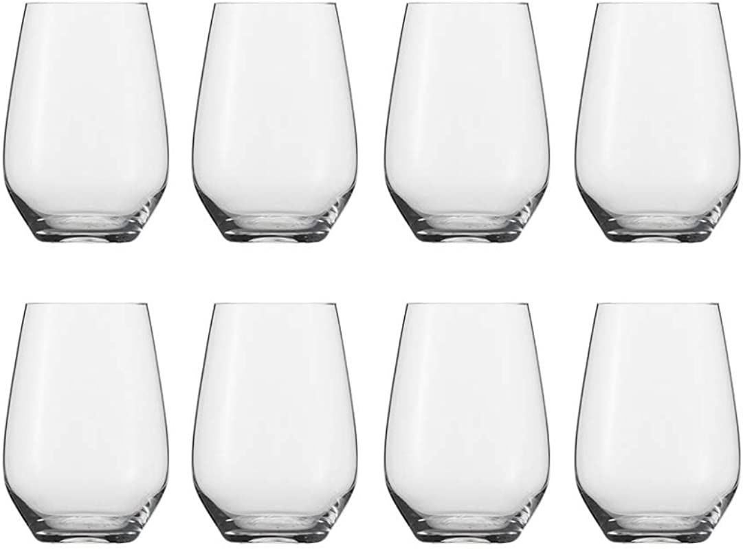 Schott Zwiesel Tritan Crystal Glass Stemware Cru Classic Collection Universal Stemless 18 6oz Buy 6 Get 8