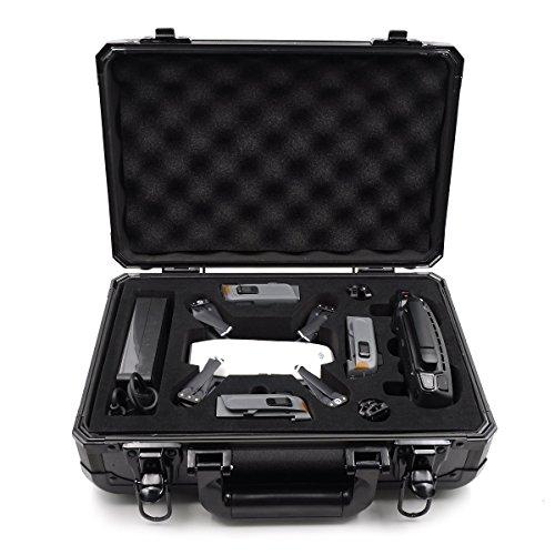 Flycoo - Maleta de aluminio + ABS para DJI Spark Drone y accesorios